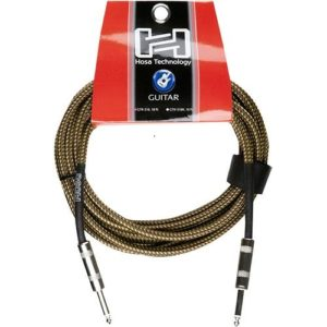 HOSA 18' TWEED GUITAR CABLE