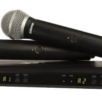 SHURE DUAL CHANNEL HANDHELD SYSTEM