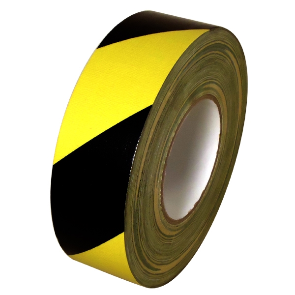 Black Amp Yellow Hazard Warning Duct Tape 2 In X 60 Yds