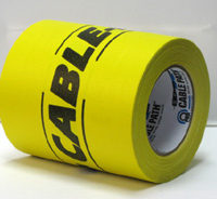 PROGAFF GAFF TAPE - Cable Path - 6x30- Yellow/Black