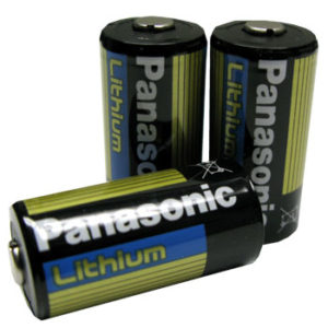 PANASONIC CR123 LITHIUM 3V BATTERIES - 12 PACK - $1.99 per battery