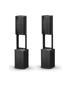 BOSE F1 MODEL 812 LOUDSPEAKER WITH F1 SUB SOUND SYSTEM - COMPLETE DUAL SYSTEM