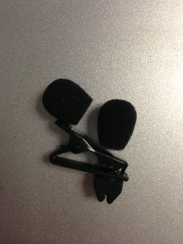 ACCESSORY PACK FOR COUNTRYMAN E6 MICROPHONE 2 WINDSCREENS & 1 TIE CLIP - BLACK