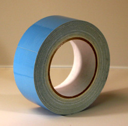 Pro Carpet Tape 2x25yd (POLYKEN 105C) DOUBLE SIDED DUCT TAPE - BLUE LINER