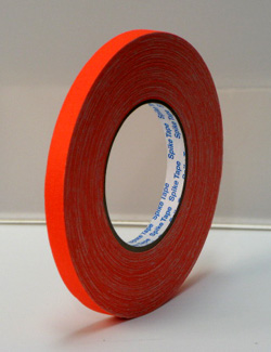 PROGAFF Pro Gaffer Spike Tape - GAFF - 1/2 x 45yds FL Orange