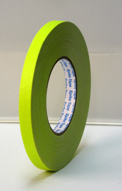 PROGAFF Pro Gaffer Spike Tape - GAFF - 1/2 x 45yds FL Yellow