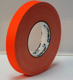 PROGAFF Pro Gaffer Tape - GAFF - 1 x 50yds FL Orange