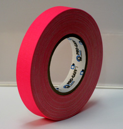 PROGAFF Pro Gaffer Tape - GAFF - 1 x 50yds FL Pink
