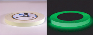 Pro Glow GLOW IN THE DARK Tape 1/2x10yds