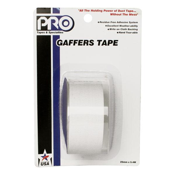 PRO GAFF 2 X 6YARDS POCKET TAPE - WHITE