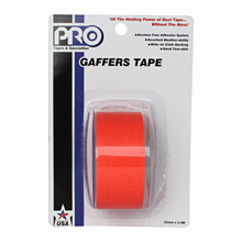 PRO GAFF 2 X 6YARDS POCKET TAPE - FL ORANGE