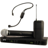Shure BLX1288/P31 Dual Channel Combo Wireless System J10