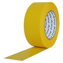 "Yellow Artist Tape 1""x 60 Yard Roll by ProTapes"
