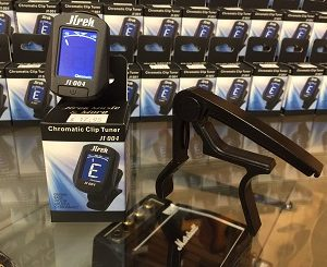 Chromatic Clip Tuner and Capo Package