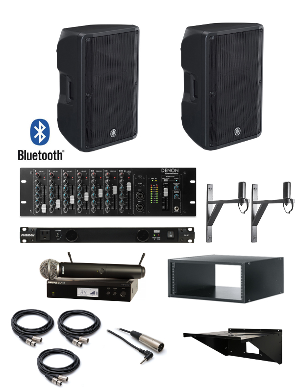 Dance Studio Sound System With Yamaha Loudspeakers And